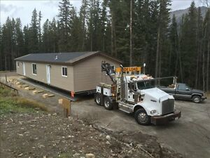 Mobile/manufactured/modular home moving