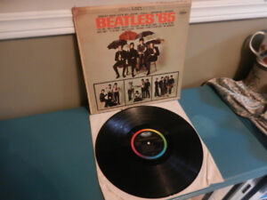 The Beatles Vinyl Records/LP's/45 RPM Various Lot