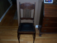 1920s Dining Chair - Minor Damage on Back