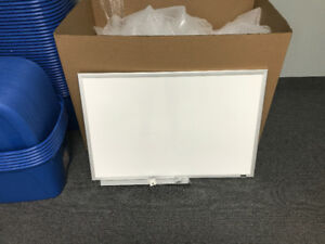 4 - DRY ERASE WHITE BOARDS FOR HOME OR OFFICE - 3 feet x 2 feet
