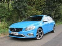 2014 64 VOLVO V60 2.4 D5 R-DESIGN LUX NAV 5D AUTO 212 BHP DIESEL ESTATE BLUE