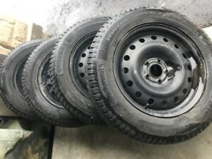 WINTER TIRES AND RIMS, PRICED TO SELL