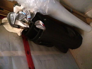 Golf Clubs with Bag and Cart London Ontario image 2
