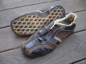 Men's Casual Brown Leather Shoes