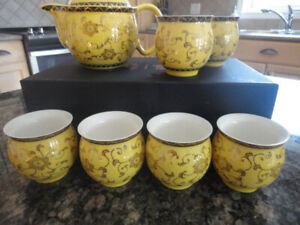 Nine piece Japanese Tea Set