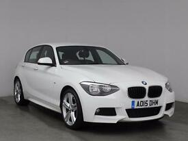 2015 BMW 1 SERIES 125d M Sport 5dr
