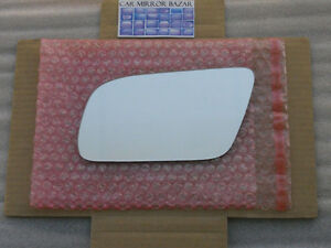 Audi A4 A6 A8 S4 S6 S8 HEATED Mirror  LEFT Side+BACKING PLATE