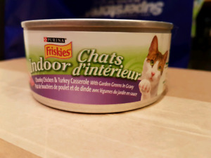 Purina cat food cans 156 g chicken turkey