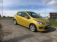 2009 09 Mazda 2 1.5 Sport, 5 door, metallic yellow