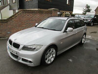 2009 (59) BMW 318d M SPORT AUTOMATIC TOURING ESTATE + JUST 47,000 MILES