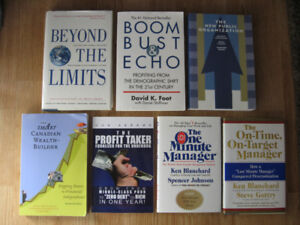 Personal Finance and Business Books - Lot of 7 assorted