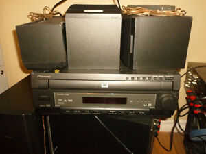 Pionneer Home theater DVD player and 5.1 speakers Gatineau Ottawa / Gatineau Area image 1
