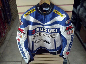 Manteau moto Joe Rocket Suzuki avec protection et doublure Large