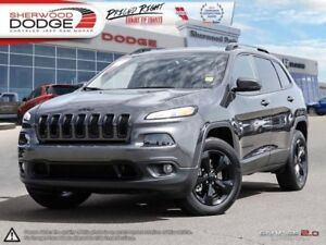 2017 Jeep Cherokee Limited  HEATED/VENTED LEATHER | SUNROOF