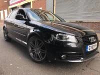 Audi A3 2010 2.0 TDI Black Edition Sportback S Tronic 5 door 1 OWNER, FSH