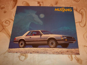 BROCHURE AUTO FORD MUSTANG ( 1979 )