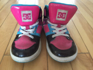 Girls size 10 DC shoes