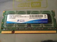 1GB PC2 6400S Laptop Memory