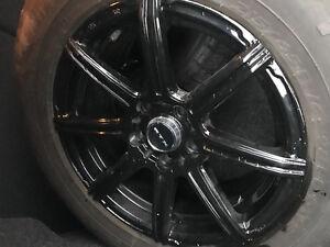 """5x112 mags 16"""" et pneus d'été 215/65/16"""