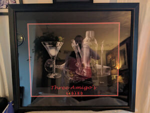 Large print for sale, perfect for home bar, man cave, pool table