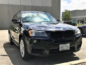 2011 BMW X3 35i SUV with fully-loaded M Package