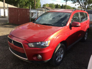 2012 MITSUBISHI OUTLANDER SE AWD, 7 SEATER, BACK UP CAMERA