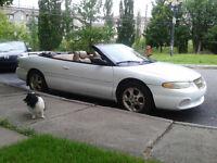 1999 Chrysler Sebring covertible Cabriolet