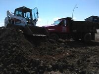 Janzen Earthscaping Delivery Topsoil, Mulch, Sand, gravel, Rock