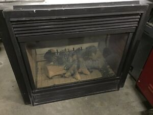 Double side Gas Fireplace