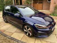 2019 Volkswagen Golf 2.0 GTI PERFORMANCE PACK TSI 3d 242 BHP REVERSE CAMERA 1 OW
