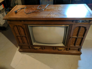 Vintage Zenith TV and Phone Combo Model SN2575E6 - 1982