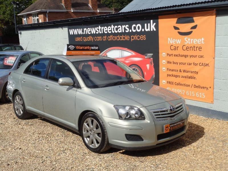 TOYOTA AVENSIS T3-S D-4D , Silver, Manual, Diesel, 2007