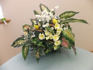 "FOR SALE Spring Floral Arrangement (18""x24""). $10. Call 306-352-"