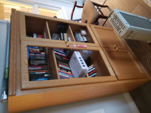 Bookshelf - Custom Built Solid Oak Wood Set