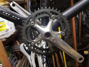 Cyclocross bike parts and frame