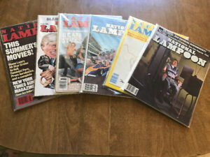 ►►►► NATIONAL LAMPOON MAGAZINES - REDUCED PRICE ◄◄◄◄
