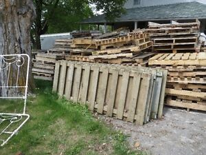 60 ft. of Used fencing