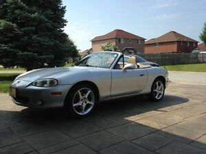 2002 Mazda MX-5 Miata LEATHER Convertible