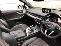 2016 66 reg Audi Q7 3.0 TDI quattro S Line Black + Nice Spec - 7 seats