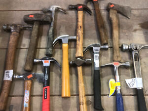 Hammers $5 - $170 stiletto & LOTS OF TOOLS FOR SALE!