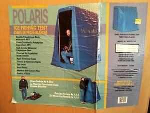 """Polaris Three man Ice fishing tent / sled 48""""W x 70""""L x 68""""H"""