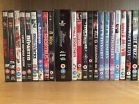 More than 70 DVD's