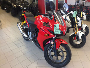 Two CBR 500s in great shape!
