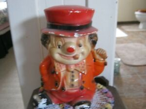Very old clown bank