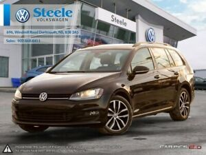 2016 VOLKSWAGEN GOLF WAGON Comfortline - Certified, Lease buy-ba