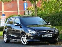 Hyundai i30 1.6 2010 Edition BLACK +5 SERVICE STAMPS + WARRANTY