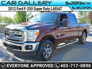 2012 Ford F-250 Super Duty LARIAT FX-4 DIESEL CREW w/Sunroof, Le