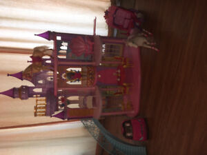 Barbie Castle And Accessories