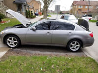 Infiniti G35,fully loaded, 2007 ,,for $5,500 ,call me 6477454331