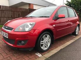 2006 FORD FIESTA 1.6 Ghia 5dr Auto Full LEATHER